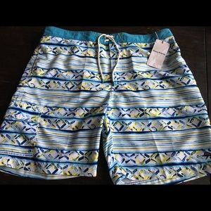 Tommy Bahama Baja Cecina Stripe Swim Trunks